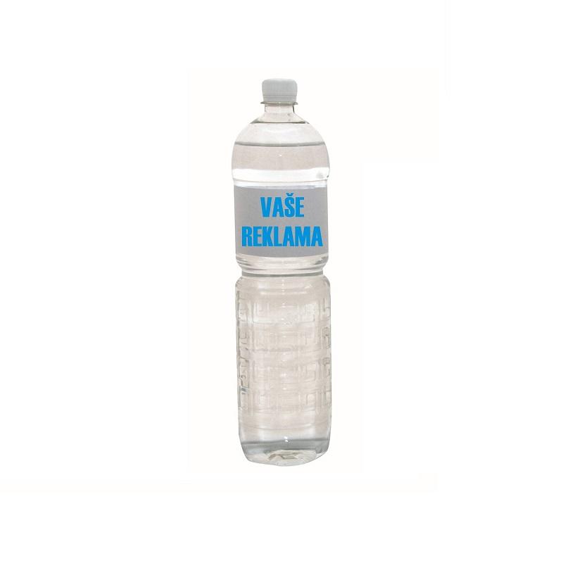 REKLAMNÍ VODA PET 1,5 L