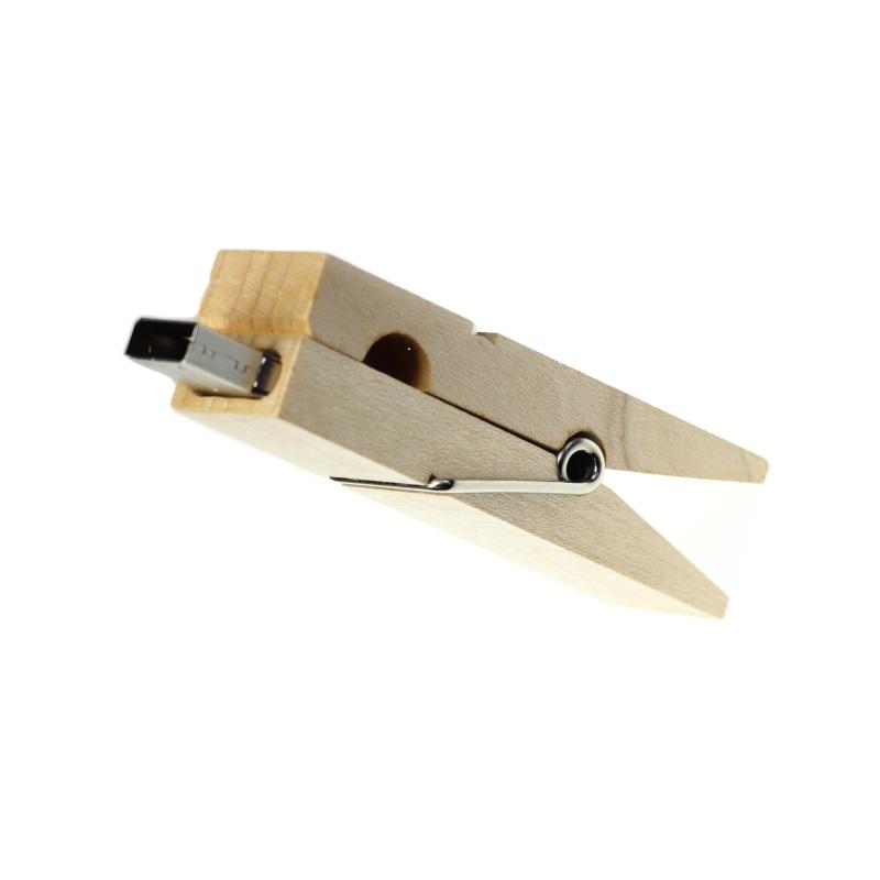 USB FLASH DISK DŘEVĚNÝ KOLÍČEK