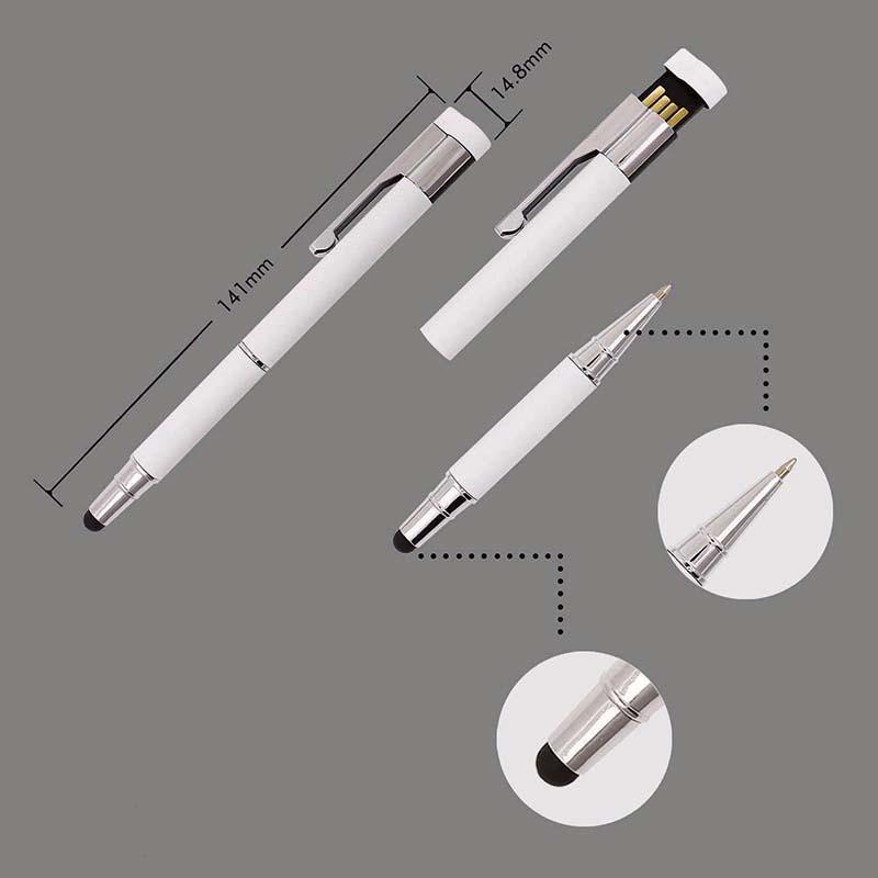 3 V 1 - PERO, STYLUS A USB FLASH DISK