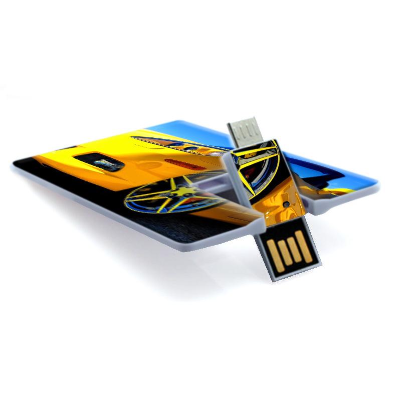 OTG USB FLASH DISK PLASTOVÁ KARTA