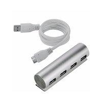 ALUMINIOVÝ USB 3.0 HUB, 4 PORTY