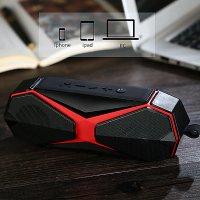 Multifunkční Bluetooth reproduktor s ultrazvukovým odpuzovačem komárů, červená barva (SPE066)