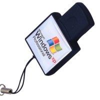 USB FLASH DISK S LOGOPRINTEM - ČTVEREC