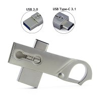 USB FLASH DISK KARABINA S TYPE-C KONEKTOREM