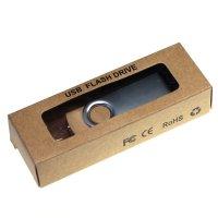 EKOBOX PAPÍROVÁ KRABIČKA NA USB FLASH DISK 9 X 3 cm