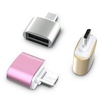 DATOVÝ A NAPÁJECÍ ADAPTÉR USB A NA USB MICRO