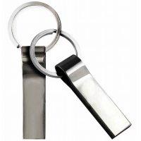 KOVOVÝ  MINI USB FLASH DISK S KROUŽKEM