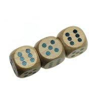 USB FLASH DISK DŘEVĚNÝ - HRACÍ KOSTKY