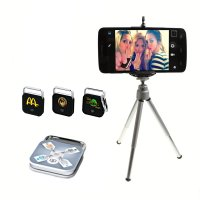SELFIE SET - BLUETOOTH SPOUŠŤ PRO SMARTPHONE/ IPHONE + STATIV