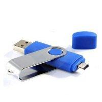 OTG USB FLASH DISK OTOČNÝ S KONEKTOREM TYPE-C