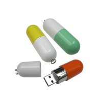 PLASTOVÝ USB FLASH DISK PILULKA