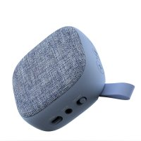 Bluetooth Reproduktor s textilní síťkou, barva modrá (SPE2809)