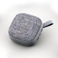 Bluetooth Reproduktor s textilní síťkou, barva šedá (SPE2809)