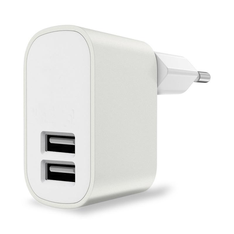 DUÁLNÍ USB ADAPTÉR  (2.1 A + 1.0 A) DO ZÁSUVKY