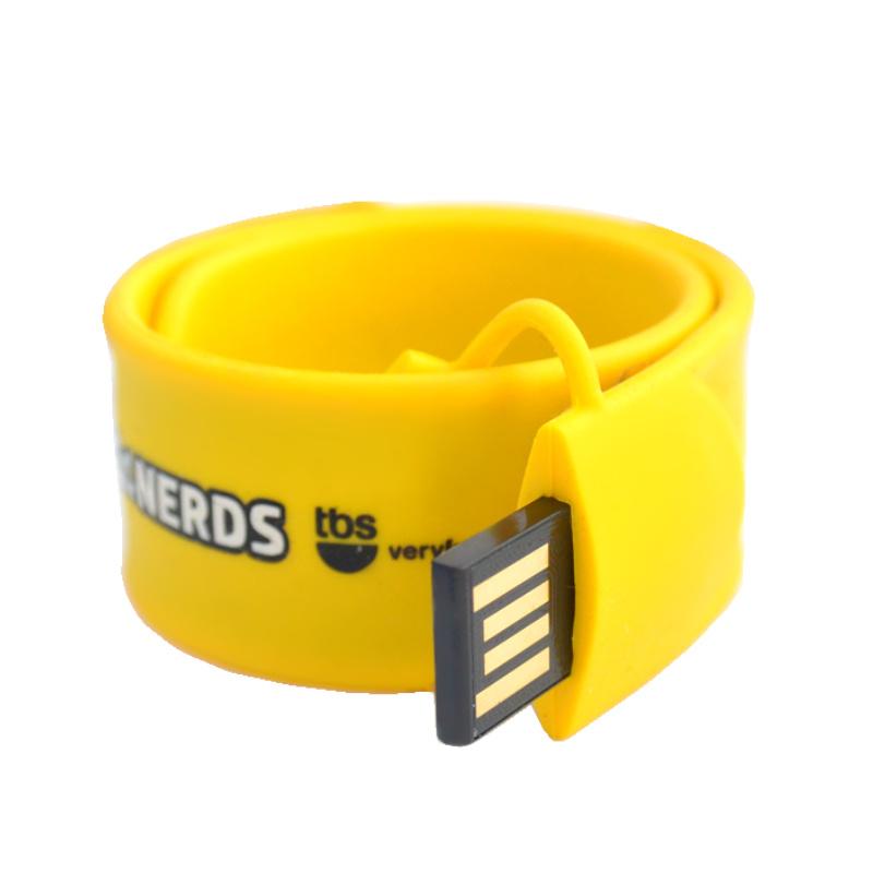 USB FLASH DISK SLAP ON SILIKONOVÝ NÁRAMEK