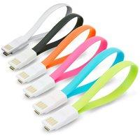 MAGNETICKÝ DATOVÝ A NAPÁJECÍ KABEL USB NA USB MICRO,