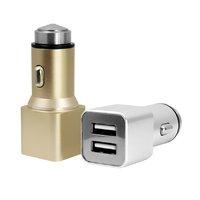 DUÁLNÍ AUTO USB ADAPTER, 2 VÝSTUPY (2,1 A + 1,0 A)