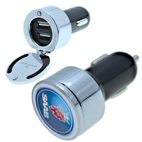 LUXUSNÍ VÝKLOPNÝ USB AUTO ADAPTER DUÁLNÍ (2.1A + 1A)