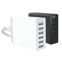 SÍŤOVÝ USB ADAPTÉR SE 6 USB VÝSTUPY