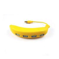 USB 2.0 HUB VE TVARU BANÁNU, 4 PORTY