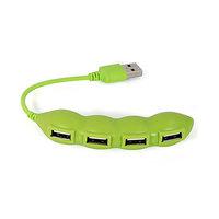 USB 2.0 HUB VE TVARU FAZOLE, 4 PORTY