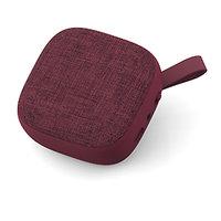 Bluetooth Reproduktor s textilní síťkou, barva vínově červená (SPE2809)