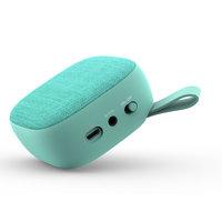 Bluetooth Reproduktor s textilní síťkou, barva zelená (SPE2809)