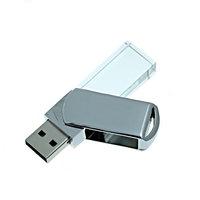 SKLENĚNÝ USB FLASH DISK OTOČNÝ