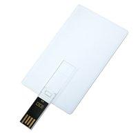 USB flash disk 2.0 karta, 8 GB, bílá barva (UDP229),