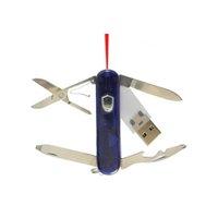 PLASTOVÝ USB FLASH DISK- MULTIFUNKČNÍ NŮŽ