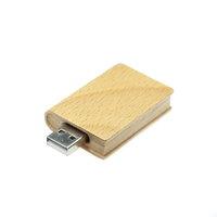 DŘEVĚNÝ USB FLASH DISK   KNIHA