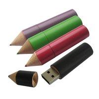 DŘEVĚNÝ USB FLASH DISK PASTELKA