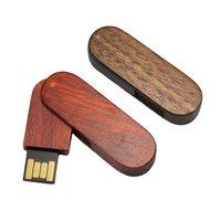 DŘEVĚNÝ USB FLASH DISK OTOČNÝ