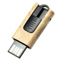 MINI DŘEVĚNÝ USB FLASH DISK VÝSUVNÝ