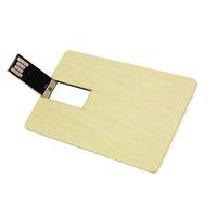 USB FLASH DISK KARTA DŘEVĚNÁ